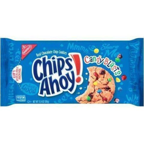 Nabisco Chips Ahoy Cookies Candy, 12.4 Oz. - Inmate Care Packages
