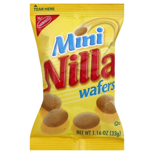 Nabisco Mini Nilla Wafer Cookies 1.16 Oz. - www.inmatecarepackage.net