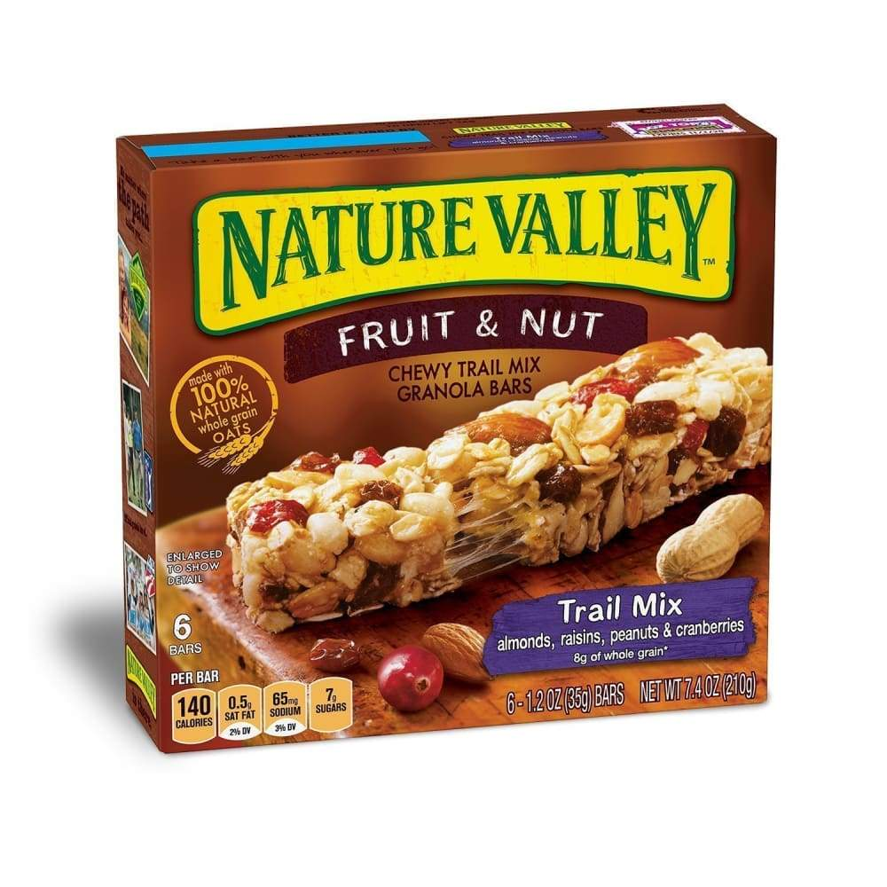 Nature Valley(R) Chewy Trail Mix Bar, Fruit & Nut, 12 Ct - www.inmatecarepackage.net