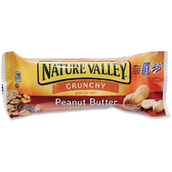 Nature Valley(R) Crunchy Granola Bar, Peanut Butter, 1.5Oz - www.inmatecarepackage.net