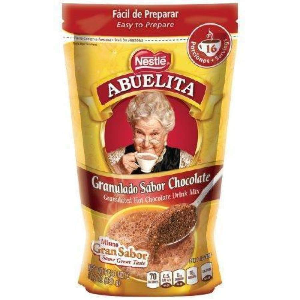 Nestle Abuelita Granulated Hot Chocolate Drink Mix 11.2Oz - www.inmatecarepackage.net