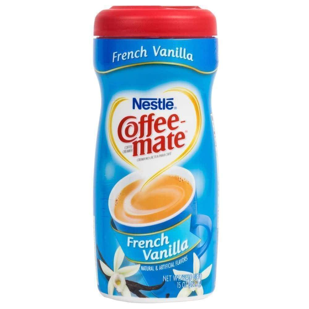 Nestle Coffee-Mate Creamer Powder French Vanilla 15 Oz - www.inmatecarepackage.net