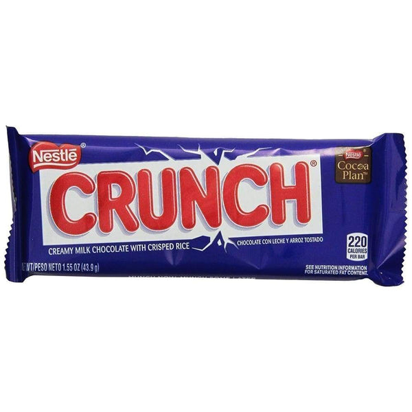 Nestle Crunch Bar - www.inmatecarepackage.net