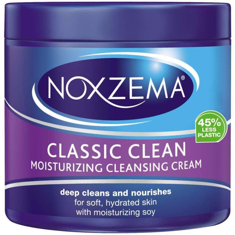 Noxzema Facial Cleanser Classic Clean Moisturizing Cleansing Cream 12Oz - www.inmatecarepackage.net