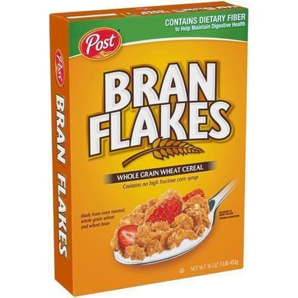 Post Bran Flakes 16 Oz. - Inmate Care Packages