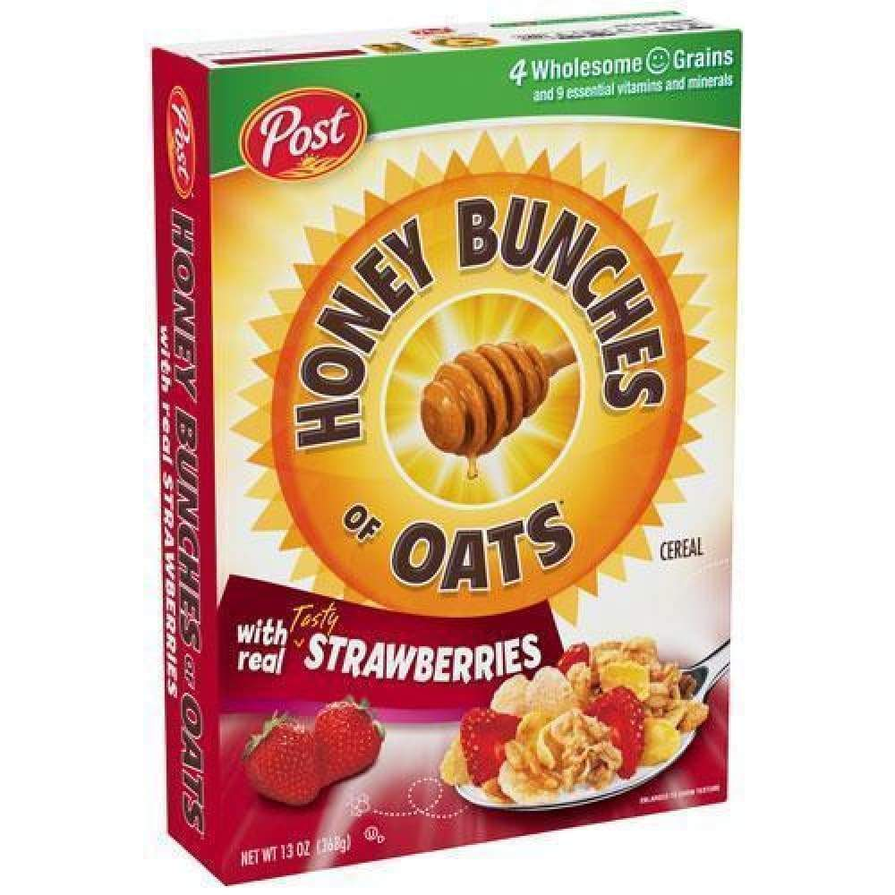 Post Honey Bunches Of Oats With Strawberries 13 Oz - www.inmatecarepackage.net