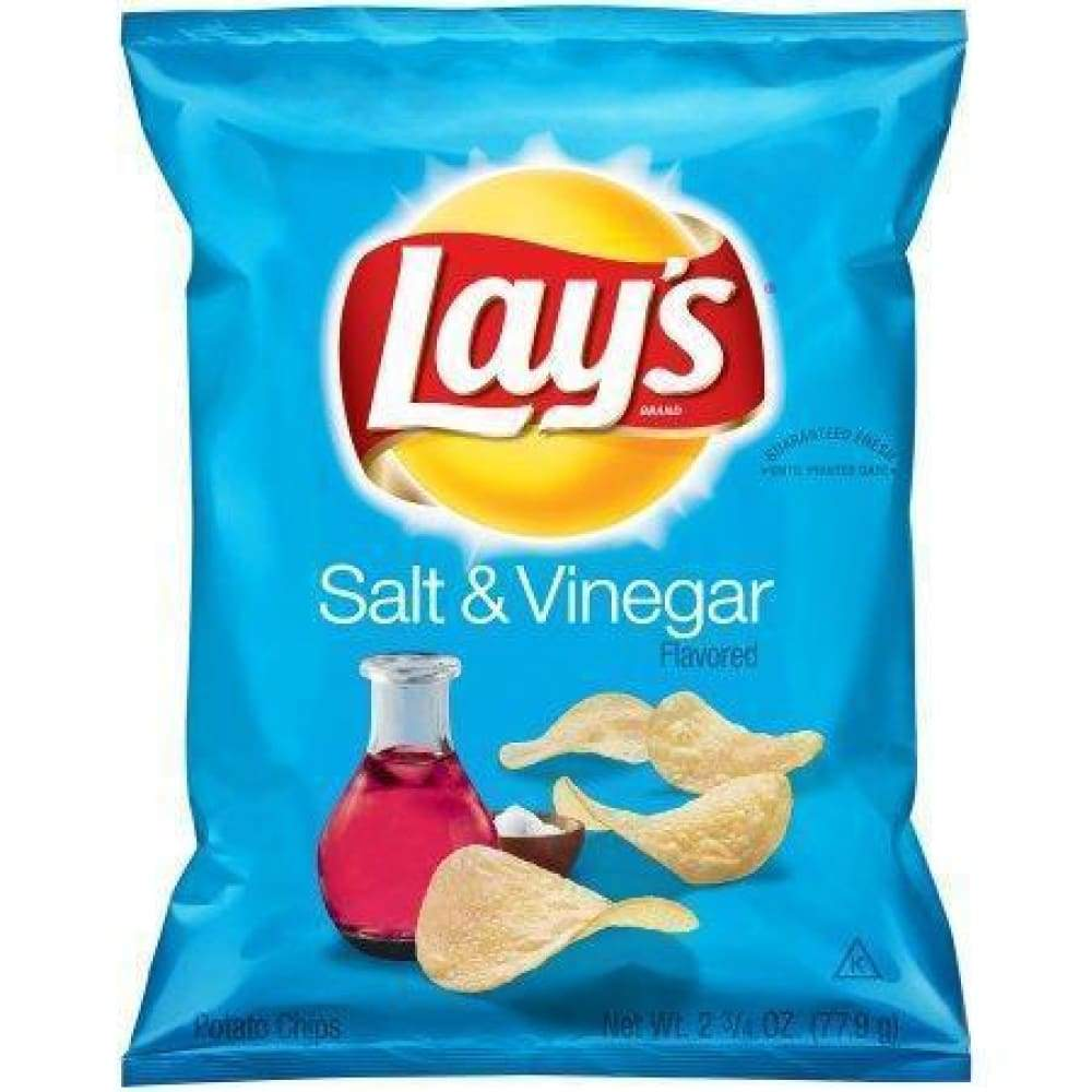 Salt & Vinegar Lay's, 2.75Oz - www.inmatecarepackage.net