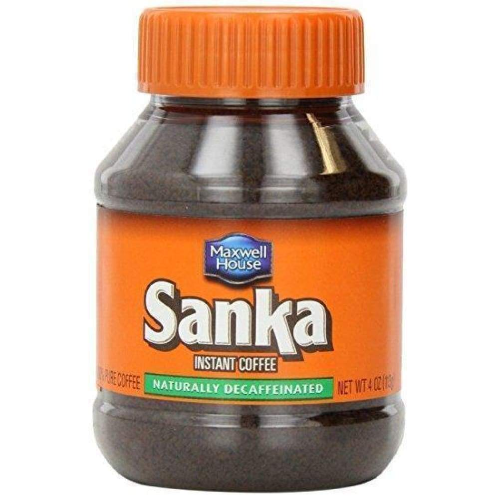 Sanka Coffee-Instant Decaffeinated  4 Oz. - www.inmatecarepackage.net