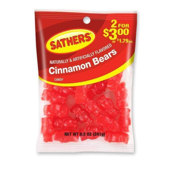 Sathers Cinnamon Bears, 8.5 Oz. - Inmate Care Packages