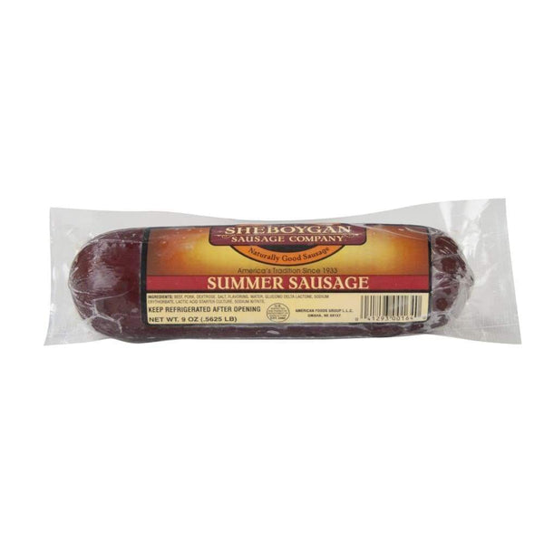 Sheboygan Summer Sausage 9Oz - Inmate Care Packages