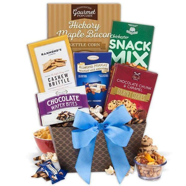 Snack Break Gift Basket - www.inmatecarepackage.net