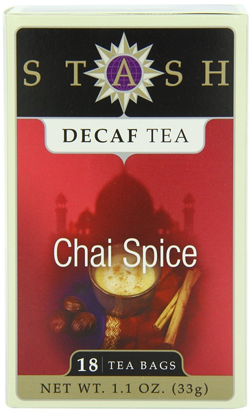 Stash Decaf Chai Spice Tea - 18 Bags - Inmate Care Packages