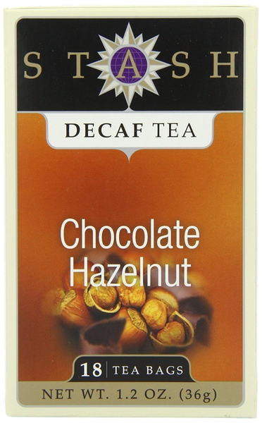 Stash Decaf Chocolate Hazelnut Tea - 18 Bags - Inmate Care Packages