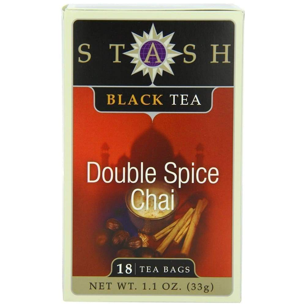 Stash Double Spice Chai Tea - 18 Ct. - www.inmatecarepackage.net