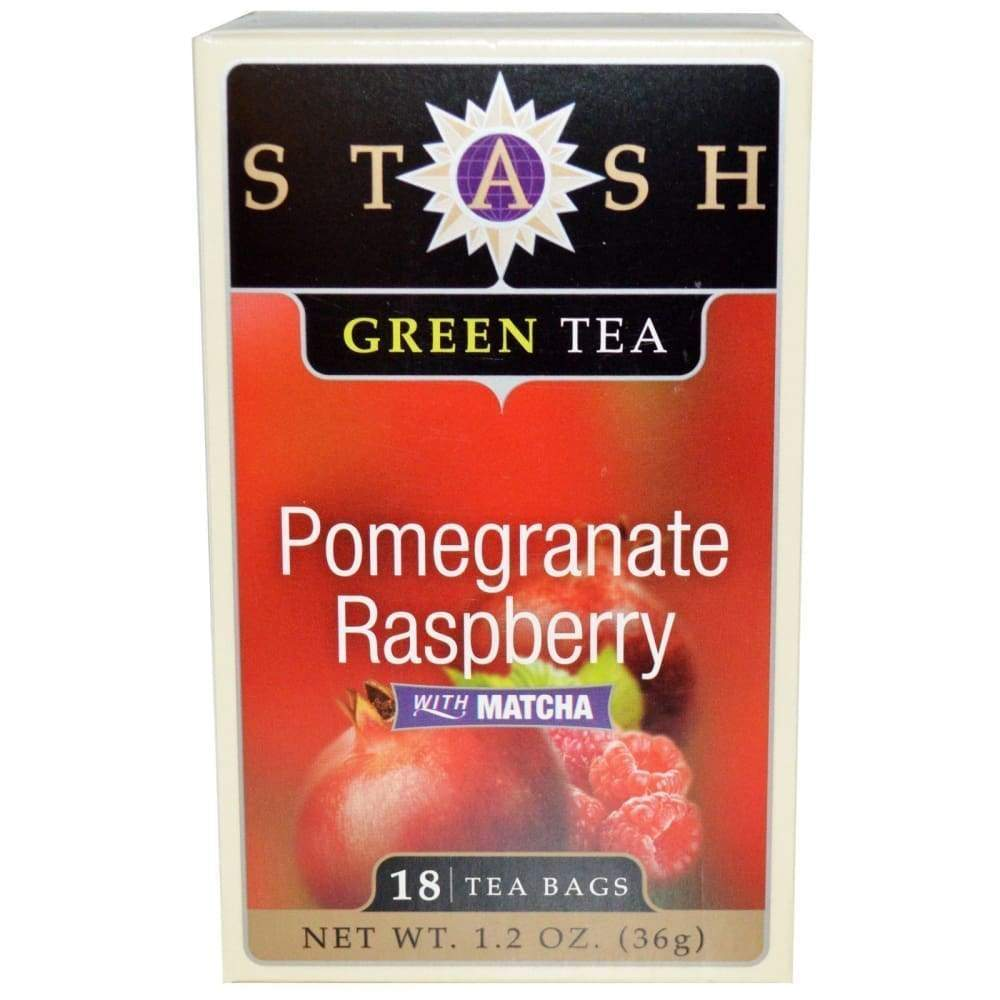 Stash Pomegranate Raspberry Green Tea 18 Bags - Inmate Care Packages