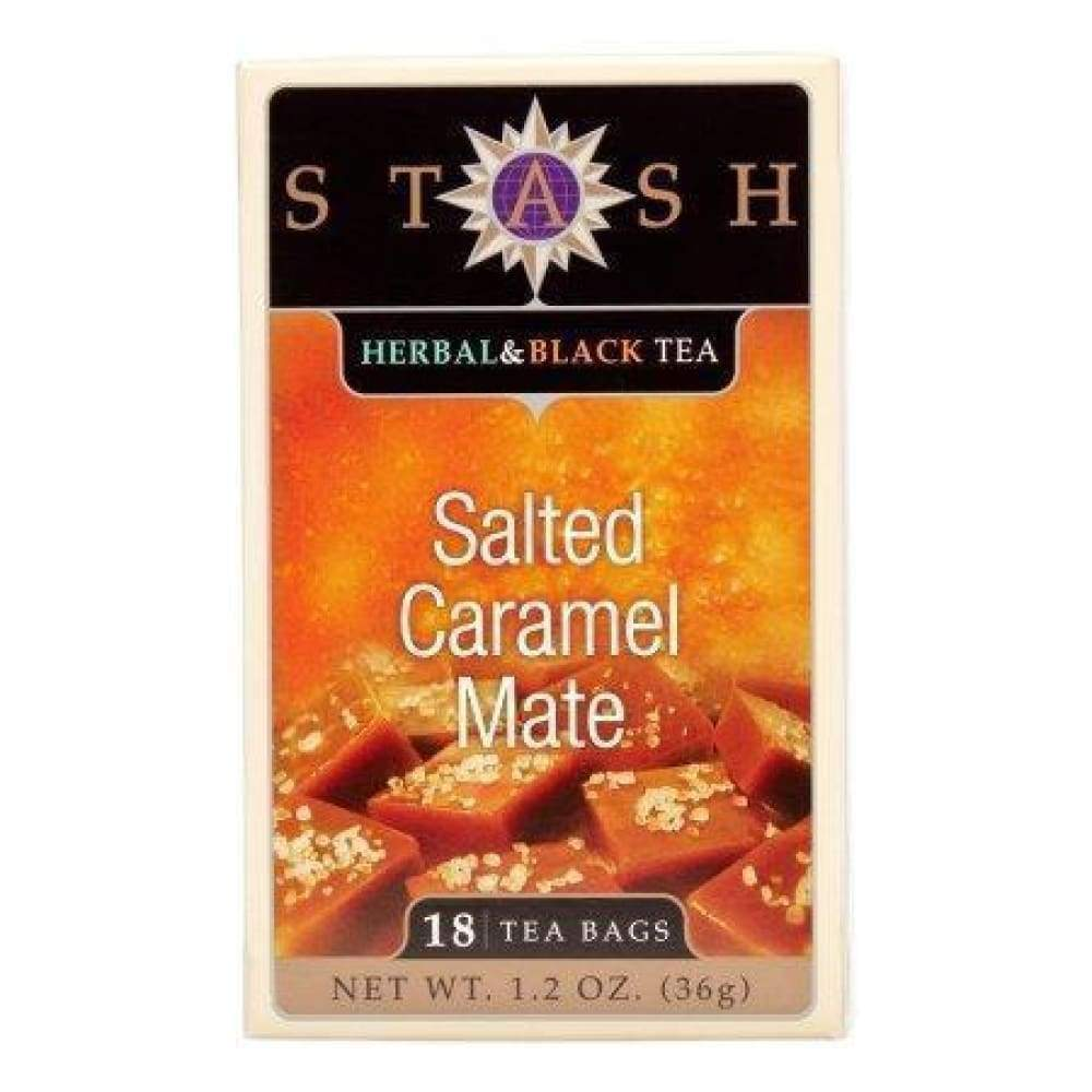 Stash Salted Caramel Mate Tea - 18 Ct. - www.inmatecarepackage.net
