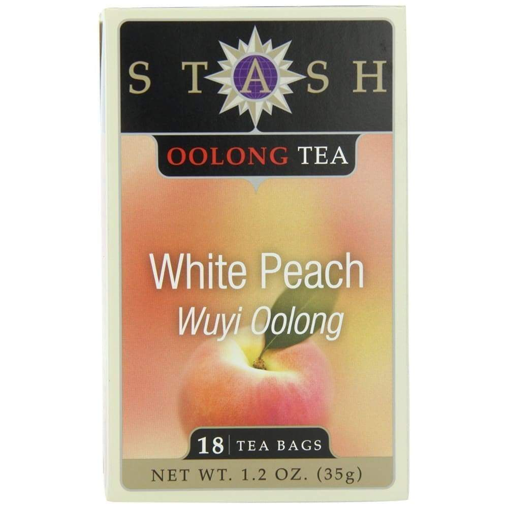 Stash White Peach Oolong Tea - 18 Ct. - www.inmatecarepackage.net