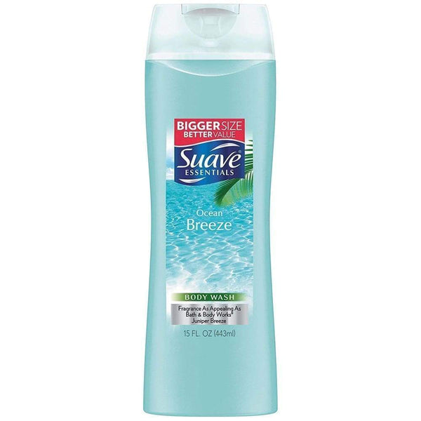 Suave Body Wash Essentials Ocean Breeze 15Oz. - Inmate Care Packages