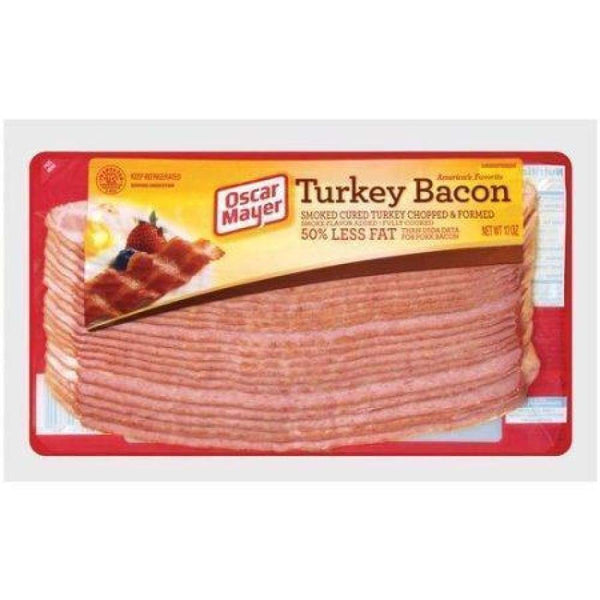 Turkey Bacon Sliced 12Oz - www.inmatecarepackage.net