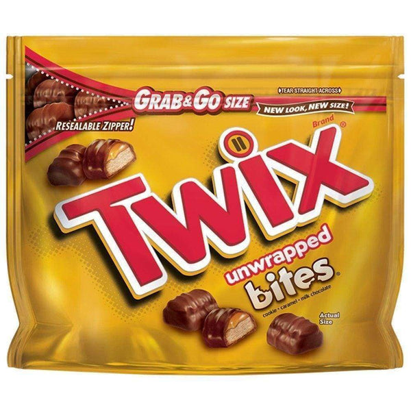 Twix Bites, 4.5 Oz. Bag - www.inmatecarepackage.net