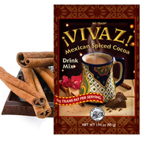 Vivaz Mexican Spiced Cocoa 1.94 Oz. - www.inmatecarepackage.net