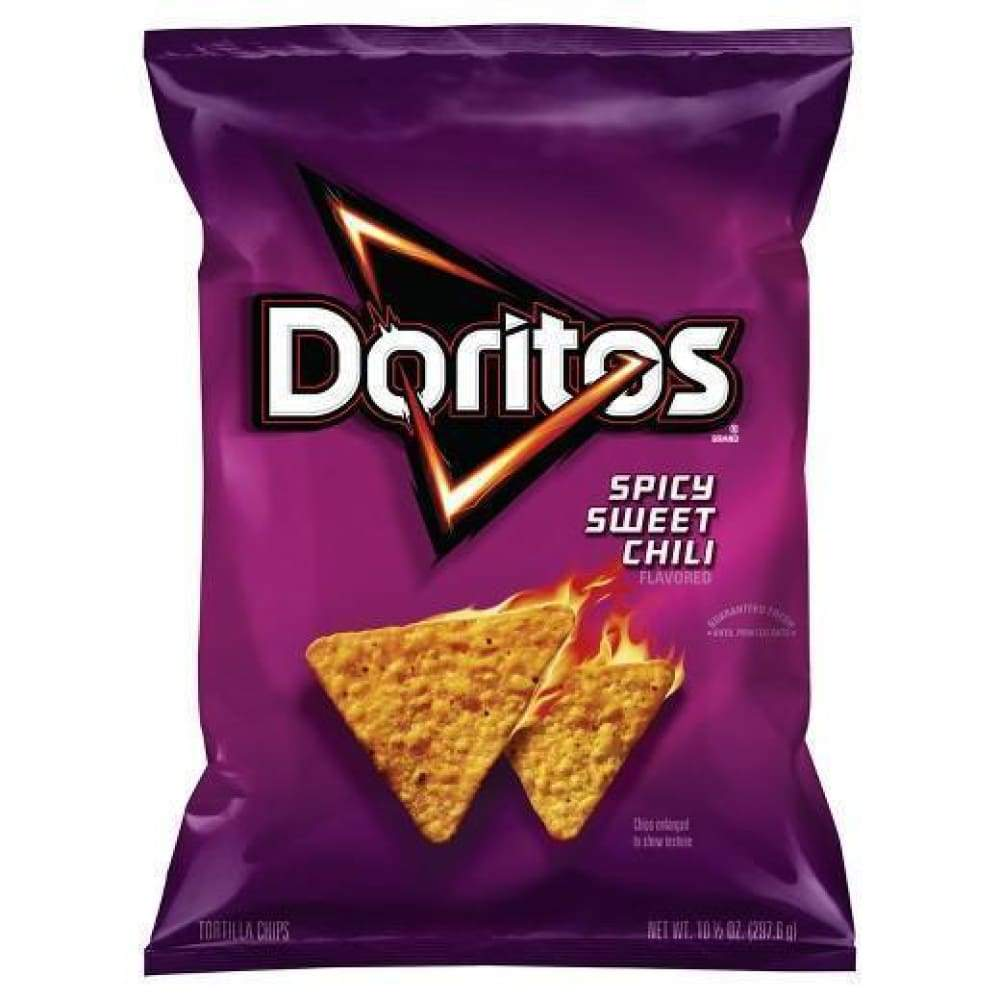 Whole Grain Reduced Fat Spicy Sweet Chili Doritos 1Oz - Inmate Care Packages