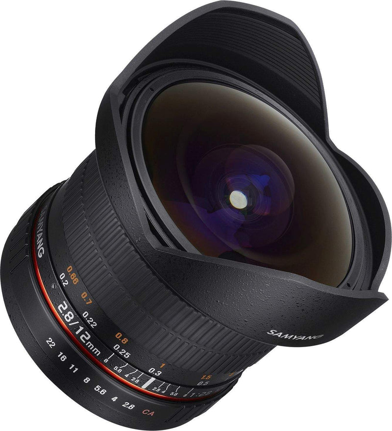 SAMYANG 12MM F2.8 ED AS NCS FISHEYE LENS - SONY E