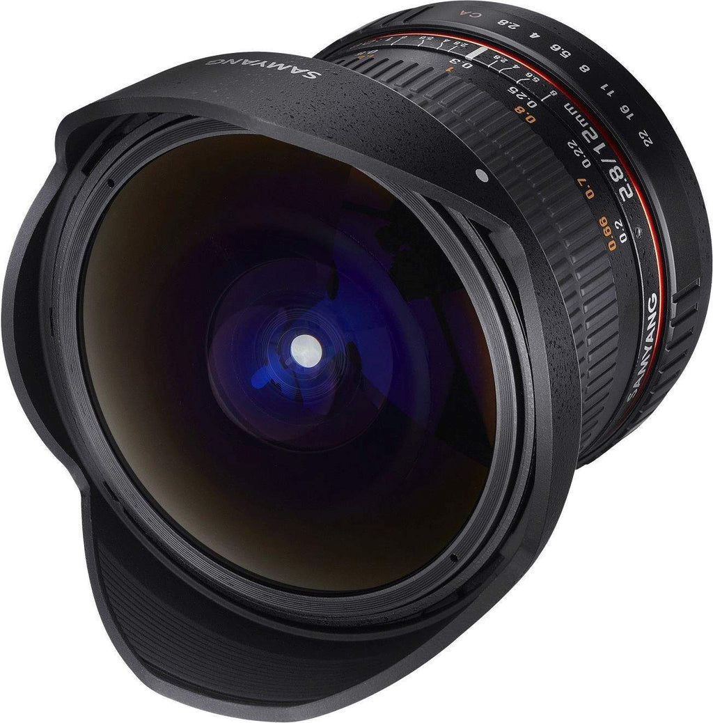SAMYANG 12MM F2.8 ED AS NCS FISHEYE LENS - CANON EF