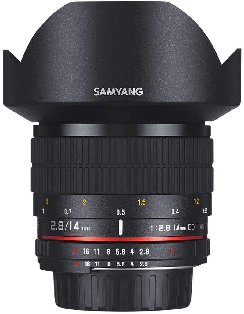 SAMYANG 14MM F/2.8 ED AS IF UMC  - NIKON F MOUNT