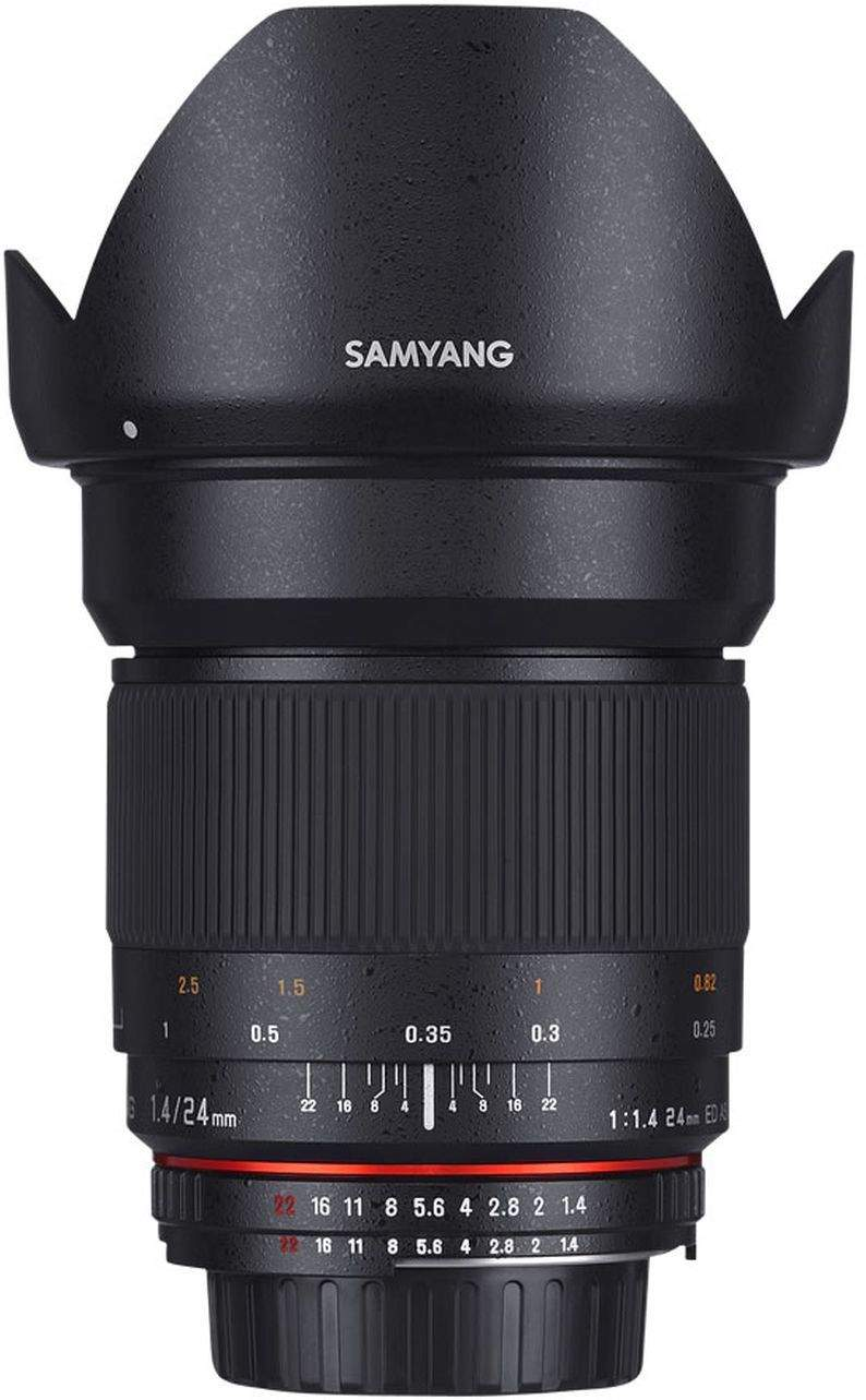 SAMYANG 24MM F1.4 ED AS UMC - CANON EF MOUNT