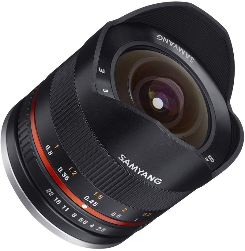 SAMYANG 8MM F2.8 UMC II FISHEYE LENS (BLACK)- SONY E (APS-C)