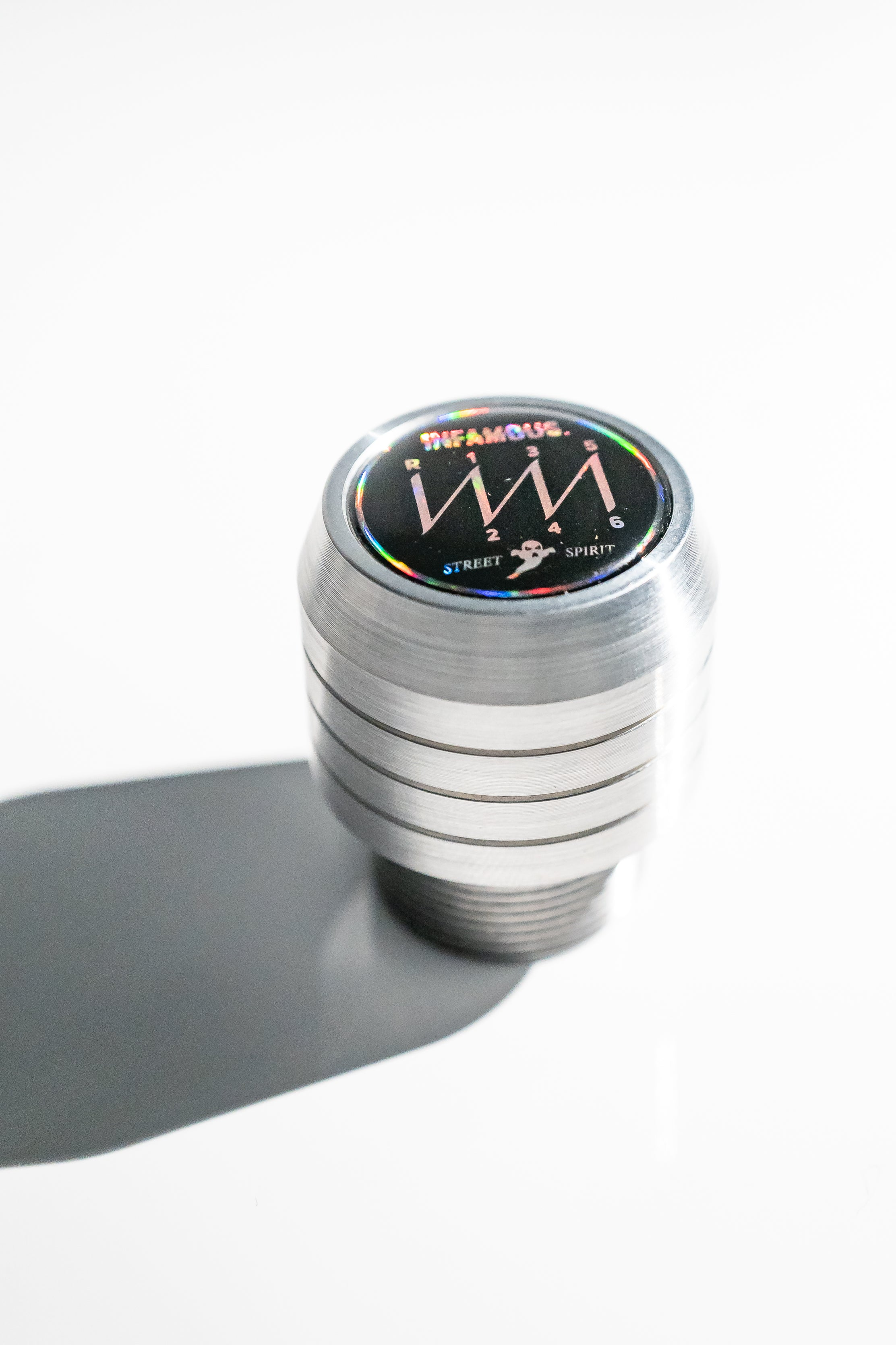 323 Modular Shift Knob // Silver // Black