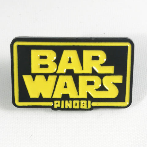 Bar Wars Pin