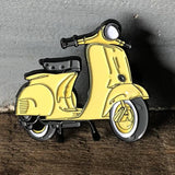 Motor scooter pin