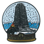 Nakatomi snow globe isolated