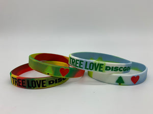 Tree Love Silicone Bracelet