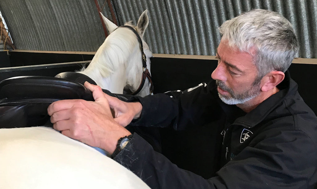Chris is 'back on the road' for Saddle Fitting