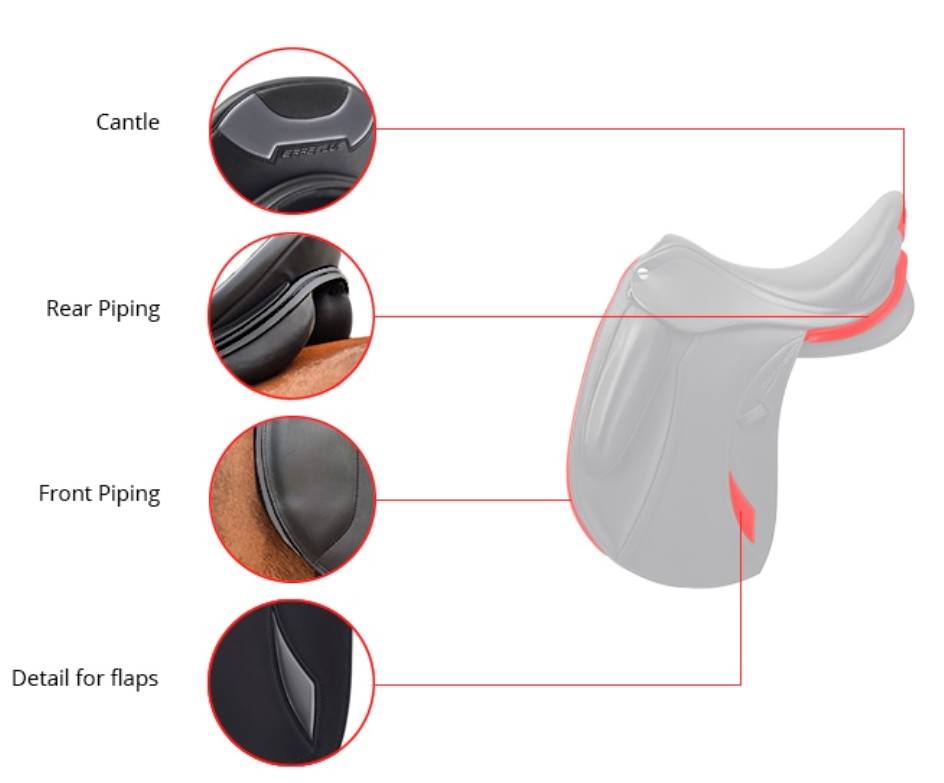 Erreplus Connect Dressage Saddle