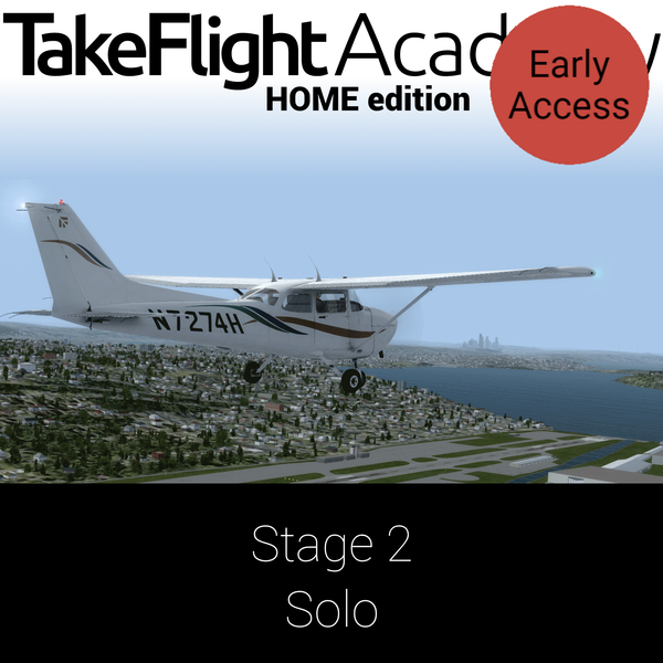 TakeFlight Academy - Standard (FSX) - Stage 2
