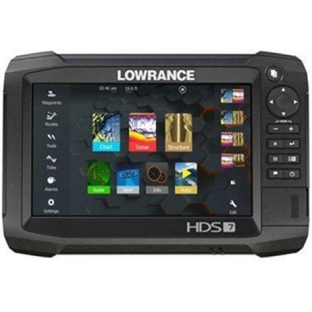 Lowrance HDS-7 Carbon CHIRP Sonar/GPS Combo, 7