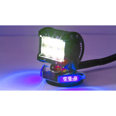 Yak Lights DR-1280 LED SPOT LIGHT WITH MARKER LIGHTS
