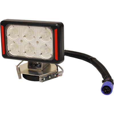 Yak Lights LED SPOT LIGHT WITH YL-PSLi LITHIUM POWER SUPPLY AND MAG MOUNT SYSTEM