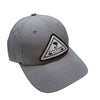 Solid Gray UPF 35+ Hat