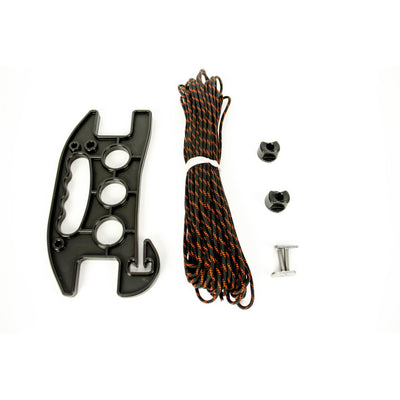 SideWinder, Anchor Line Reel, Includes Track Hardware and 75' of 550 Paracord