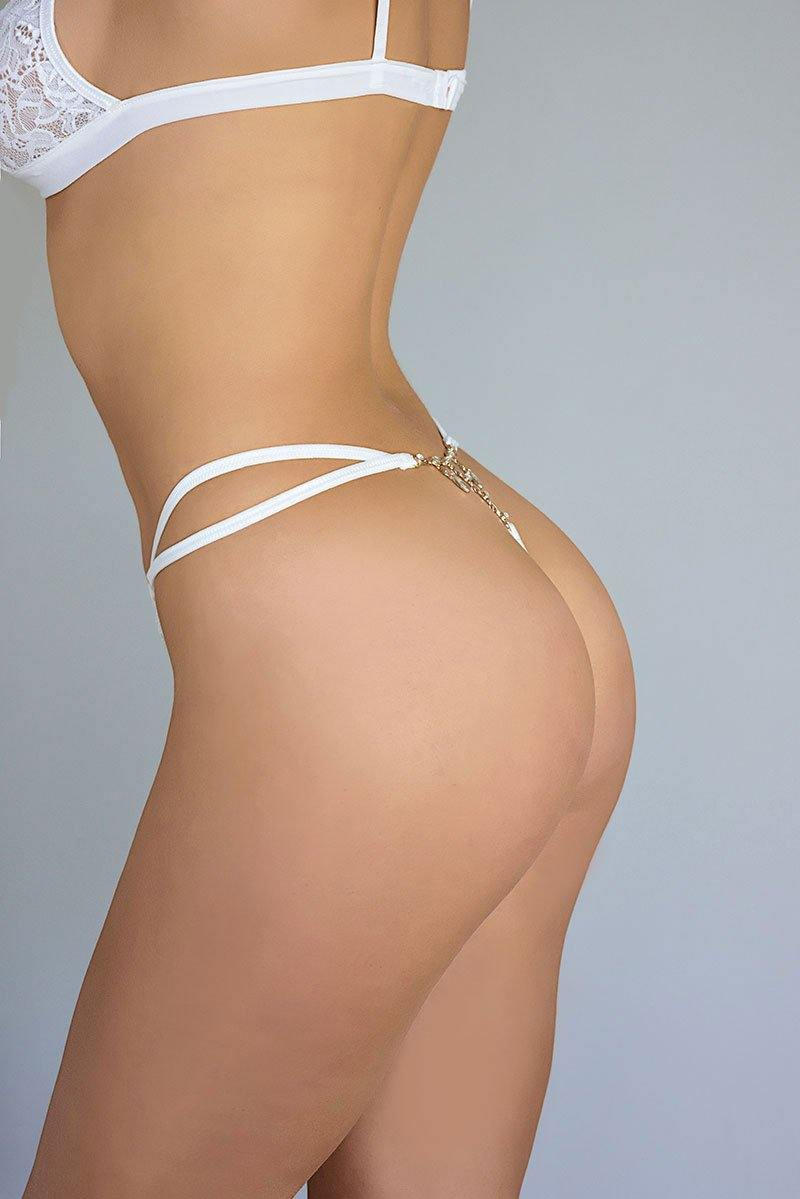 LuminoGlow tequila thong side view