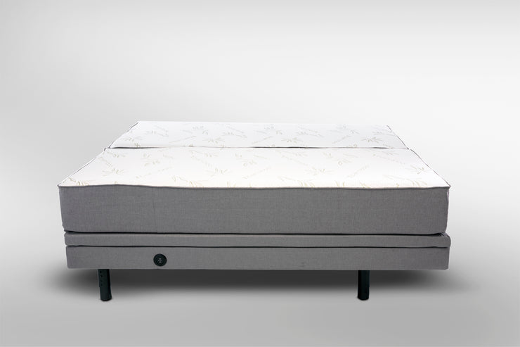 Powers Bamboo 11'' Gel Foam Mattress With Adjustable Frame