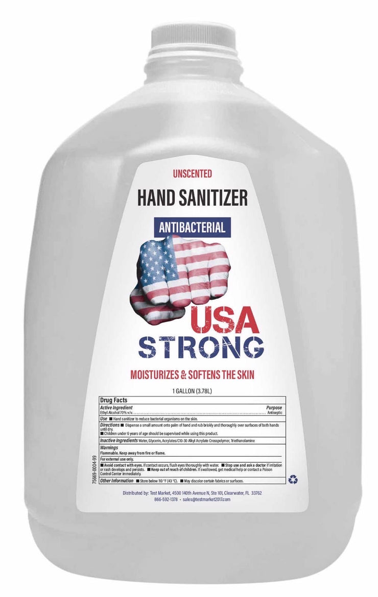 1 Gallon 4-Pack Hand Sanitizer