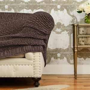 Chaise Lounge Slipcover, Mille Righe Collection