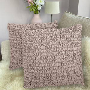 Pillow Slipcovers 2 Pcs Set (18x18 in),  Microfibra Collection