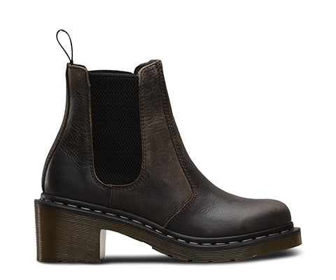 DR.MARTENS BOTTILLON CHELSEA BOOTS CADENCE GREASY GREENLAND LEATHER DM2 SHOP MAHEU GO SPORT